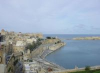 Pevnost Ricasoli fort a Grand Harbour